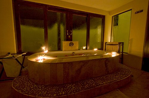 Private en-suite bathroom Black Rhino Game Lodge Pilanesberg Game Park Black Rhino Private Game Reserve