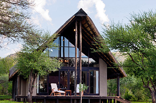 Luxury Suite private deck Black Rhino Game Lodge Pilanesberg Game Park Black Rhino Private Game Reserve