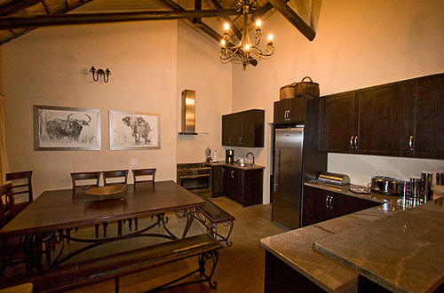 Main Lodge Kitchen Black Rhino Game Lodge Pilanesberg Game Park Black Rhino Private Game Reserve