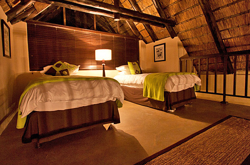 Family Chalet Loft Black Rhino Game Lodge Accommodation Bookings Pilanesberg Game Park Black Rhino Private Game Reserve Luxury Accommodation