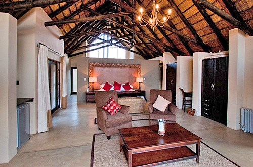 Luxury Chalet Unit Black Rhino Game Lodge Accommodation Bookings Pilanesberg Game Park Black Rhino Private Game Reserve