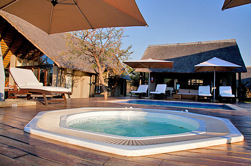 Jacuzzi Deck Black Rhino Game Lodge Pilanesberg Game Park Black Rhino Private Game Reserve