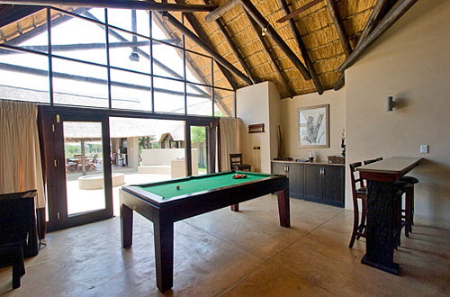 Main Lodge Snooker Table Black Rhino Game Lodge Pilanesberg Game Park Black Rhino Private Game Reserve