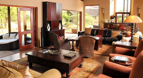 Main Lodge Lounge Pilanesberg Private Lodge Pilanesberg Game Reserve Accommodation Bookings Luxury Accommodation