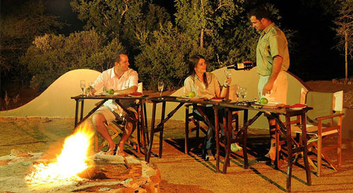 Boma Dining Pilanesberg Private Lodge Pilanesberg Game Reserve Accommodation Bookings Luxury Accommodation