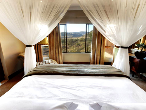 Pilanesberg Executive Suite view Shepherd's Tree Game Lodge Accommodation Pilanesberg Game Reserve