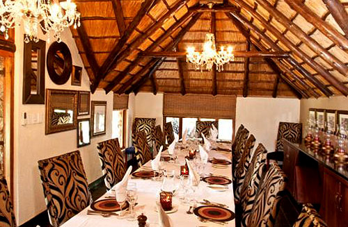 View of Dining Room at Tshukudu Bush Lodge, Luxury Accommodation at Pilanesberg Game Reserve - Accommodation Bookings