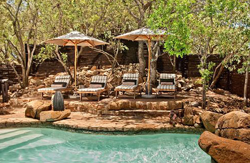 Rocky Swimming Pool at Tshukudu Bush Lodge, Luxury Accommodation at Pilanesberg Game Reserve - Accommodation Bookings