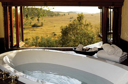 Luxurious Cottage Bathroom view at Tshukudu Bush Lodge, Luxury Accommodation at Pilanesberg Game Reserve - Accommodation Bookings